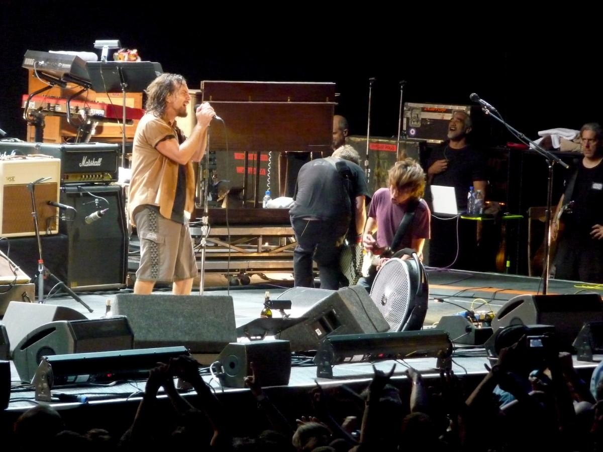 Pearl Jam live in 2009