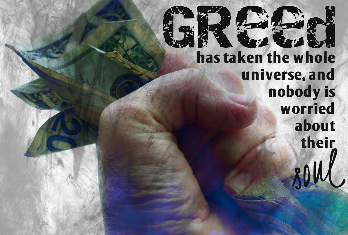 """""""Greed has taken the whole universe, and nobody is worried about their soul."""" - Little Richard, American musician"""