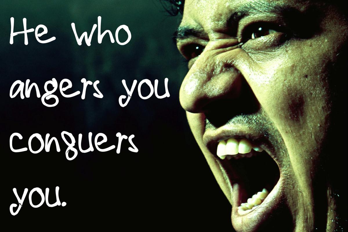"""He who angers you conquers you."" - Elizabeth Kenny, Australian nurse"