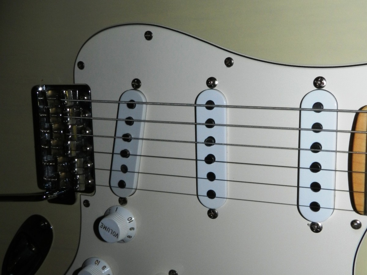 The classic Strat layout