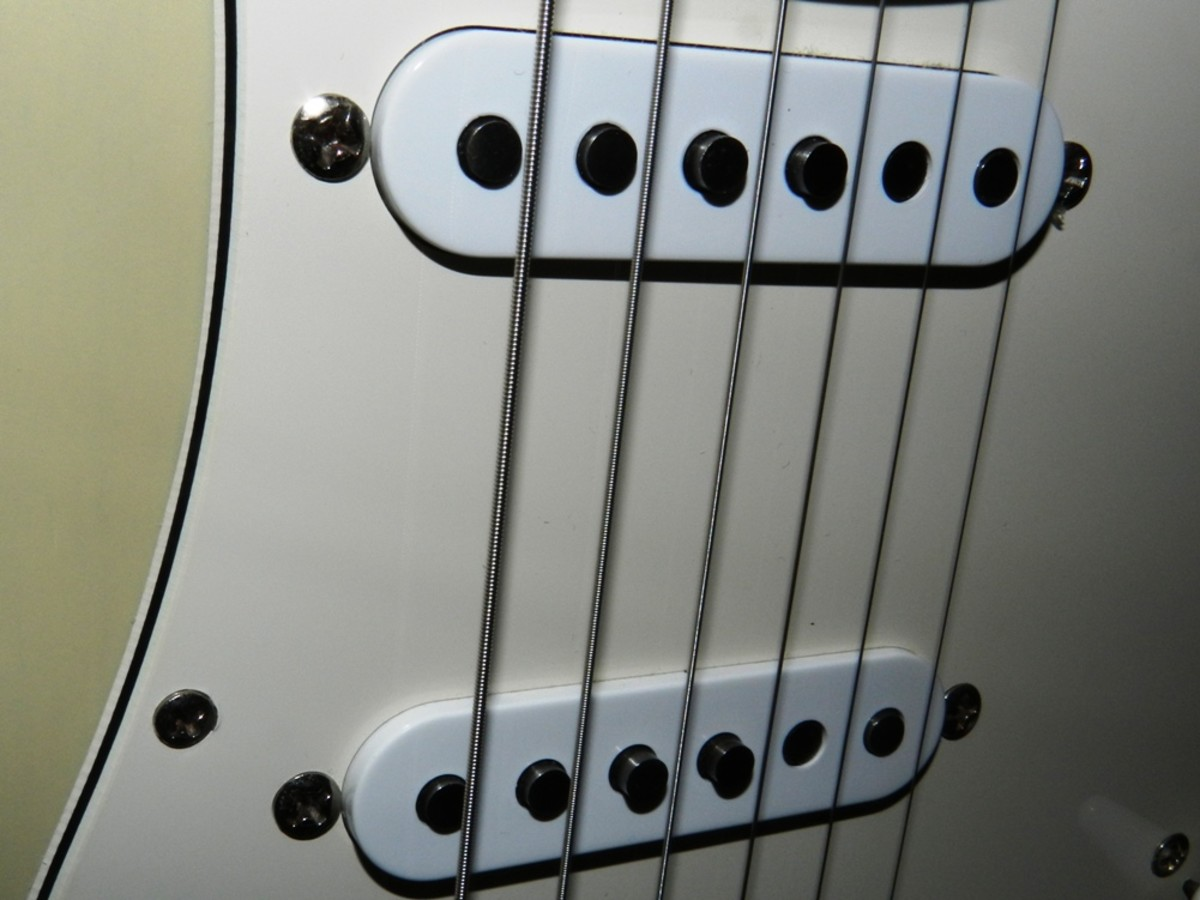 Those pickups are what made the Strat tone legendary.