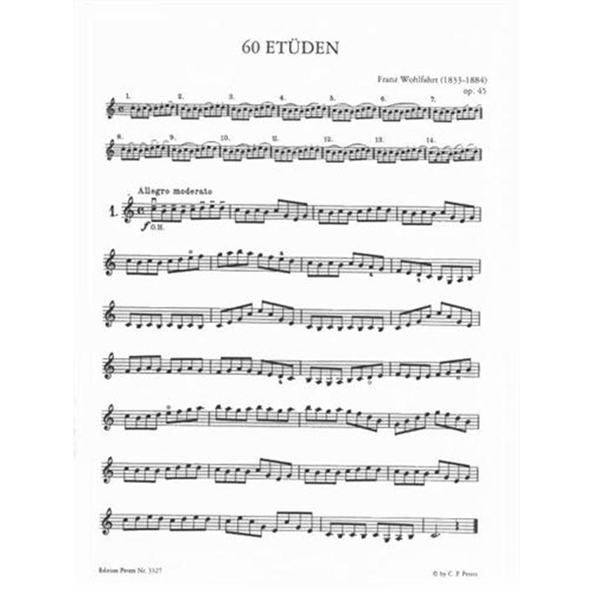 Wohlfahrt Op.45 No.1