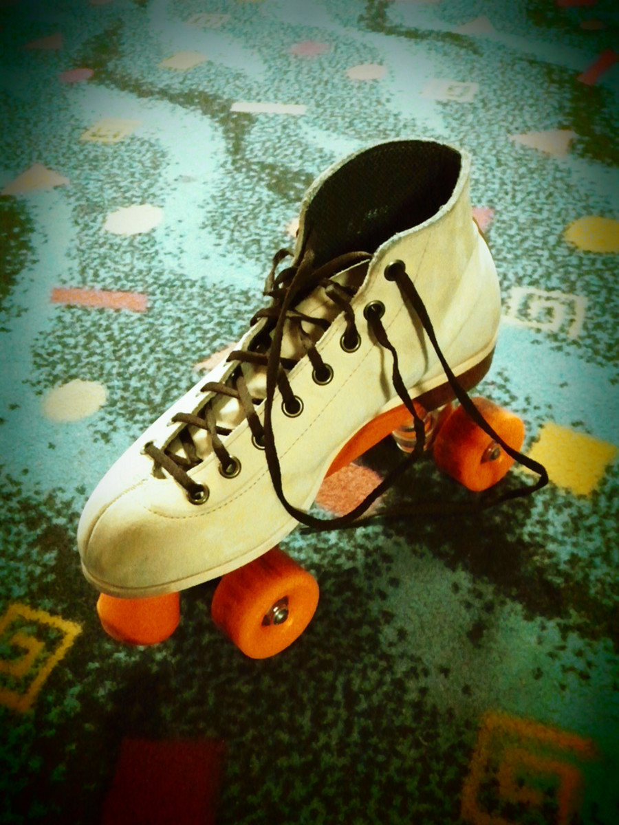 In the 1970s, roller skating became popular and the roller disco was born.