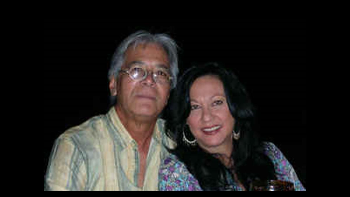 Warwick Lyn and wife Patsy
