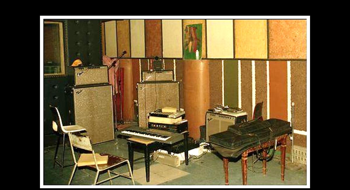 Inside Channel One Studio