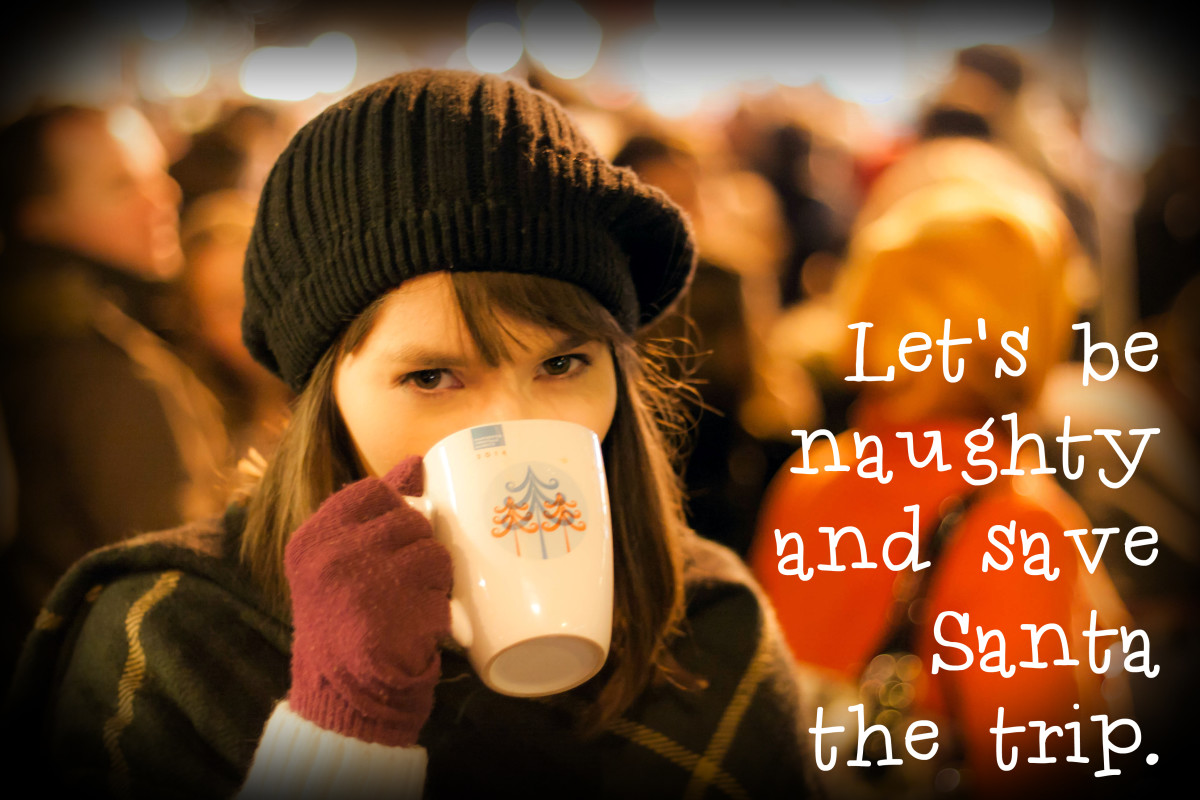 """Let's be naughty and save Santa the trip."" - Gary Allan, American country musician"