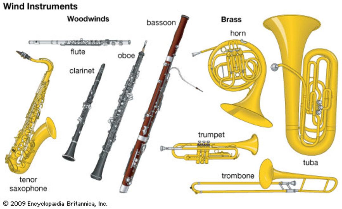 Woodwind & Brass Instruments