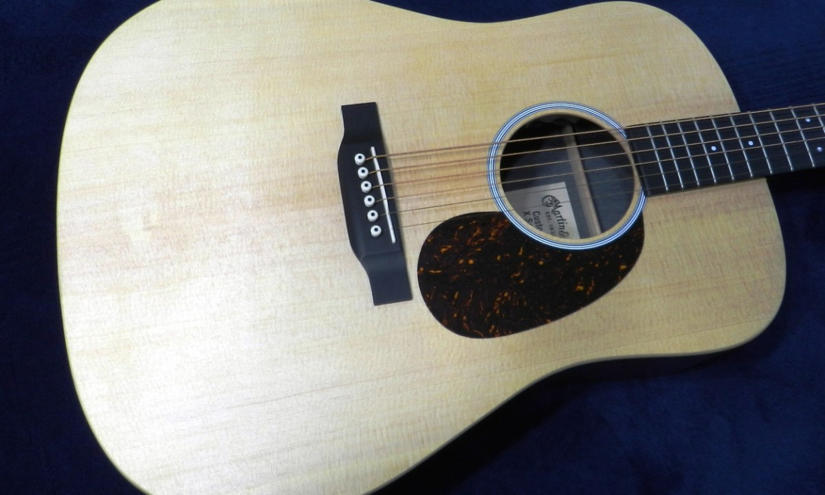 My Martin X-Series DX1AE