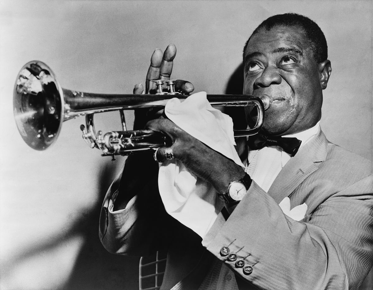 Louis Armstrong was also known by his childhood nickname, Satchmo
