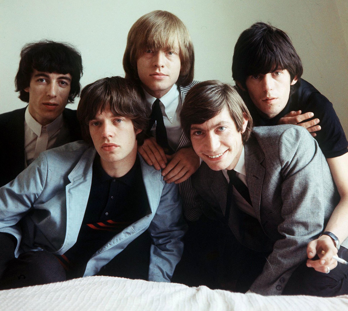 The Rolling Stones in the middle 1960s