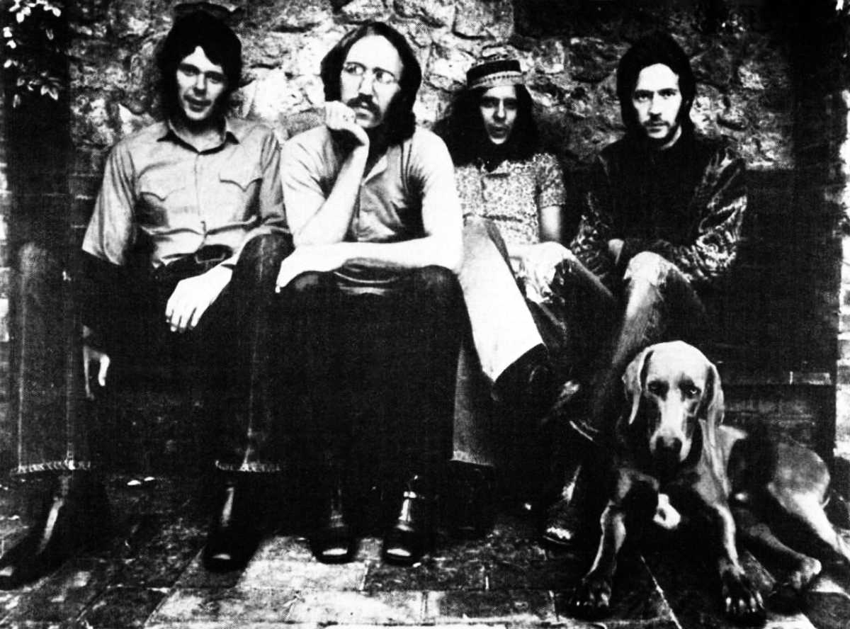 Derek and the Dominos (Eric Clapton upper right)