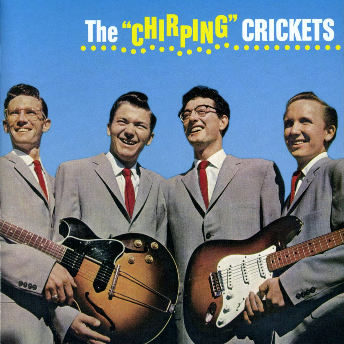 Buddy Holly (second from right)
