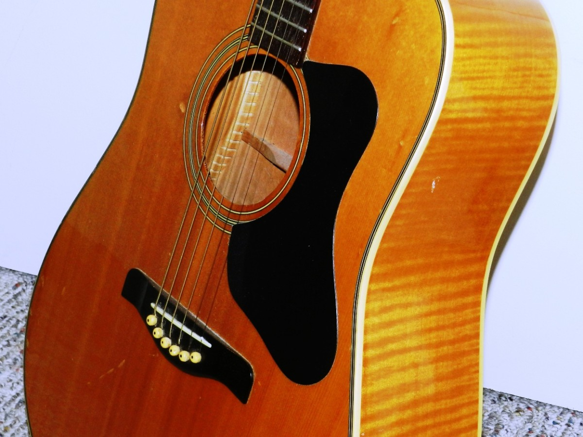 You may hang on to your first acoustic guitar for decades - I have.