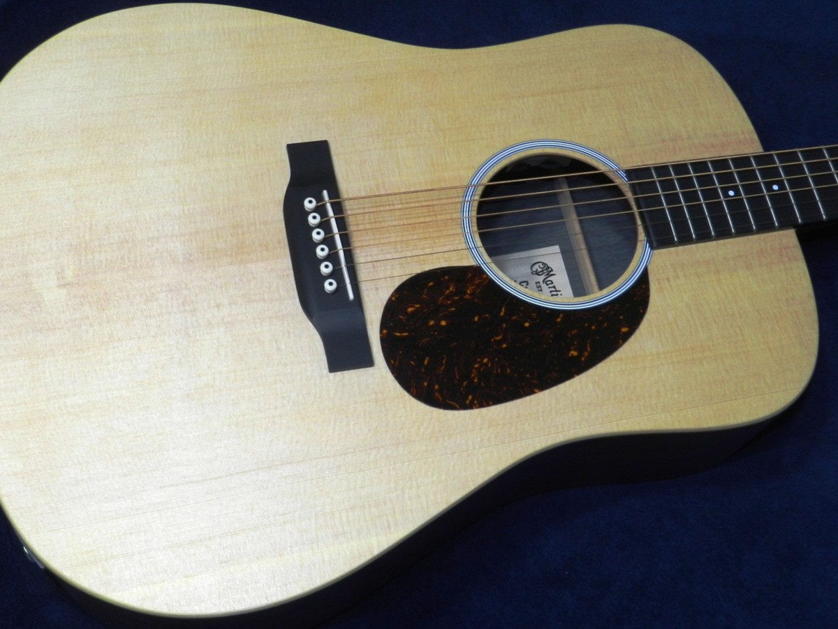 Acoustic guitars are simple - just tune 'em up and play.