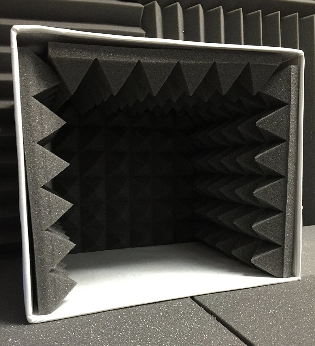 Effective, portable methods of localised acoustic treatment and isolation are widely available to buy and easy to make.