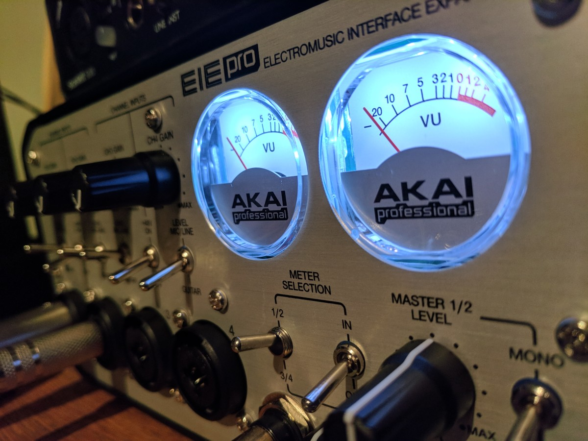 The tools you need will vary depending on what you do. This EIE Pro audio interface is great for recording multiple mics, for example, but would be excessive for voice-over work.