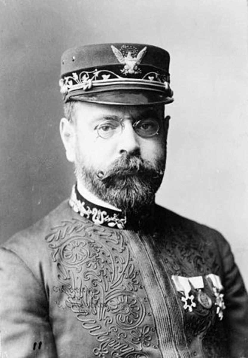 "John Philip Sousa - Known throughout the world as the March King. Composed ""The Stars and Stripes Forever"", the national march of the United States."