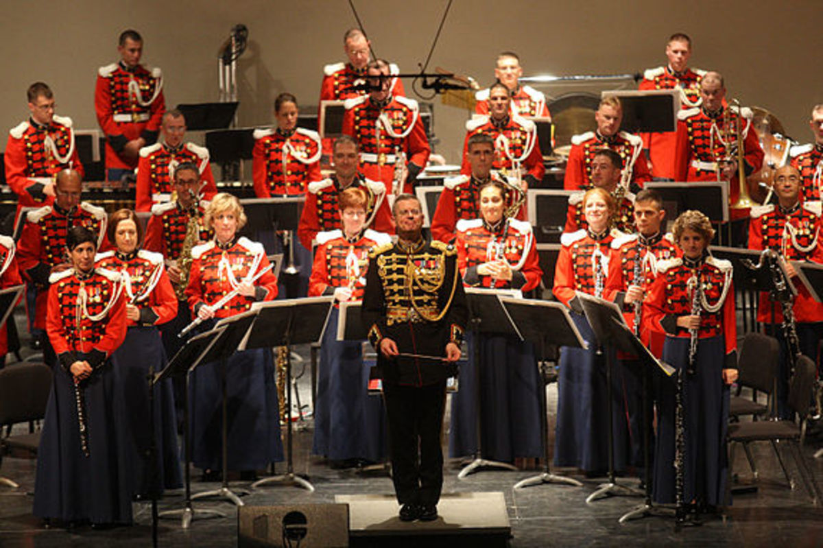 The Presidents Own Marine Band is one of the elite musical organizations out of Washington D.C.