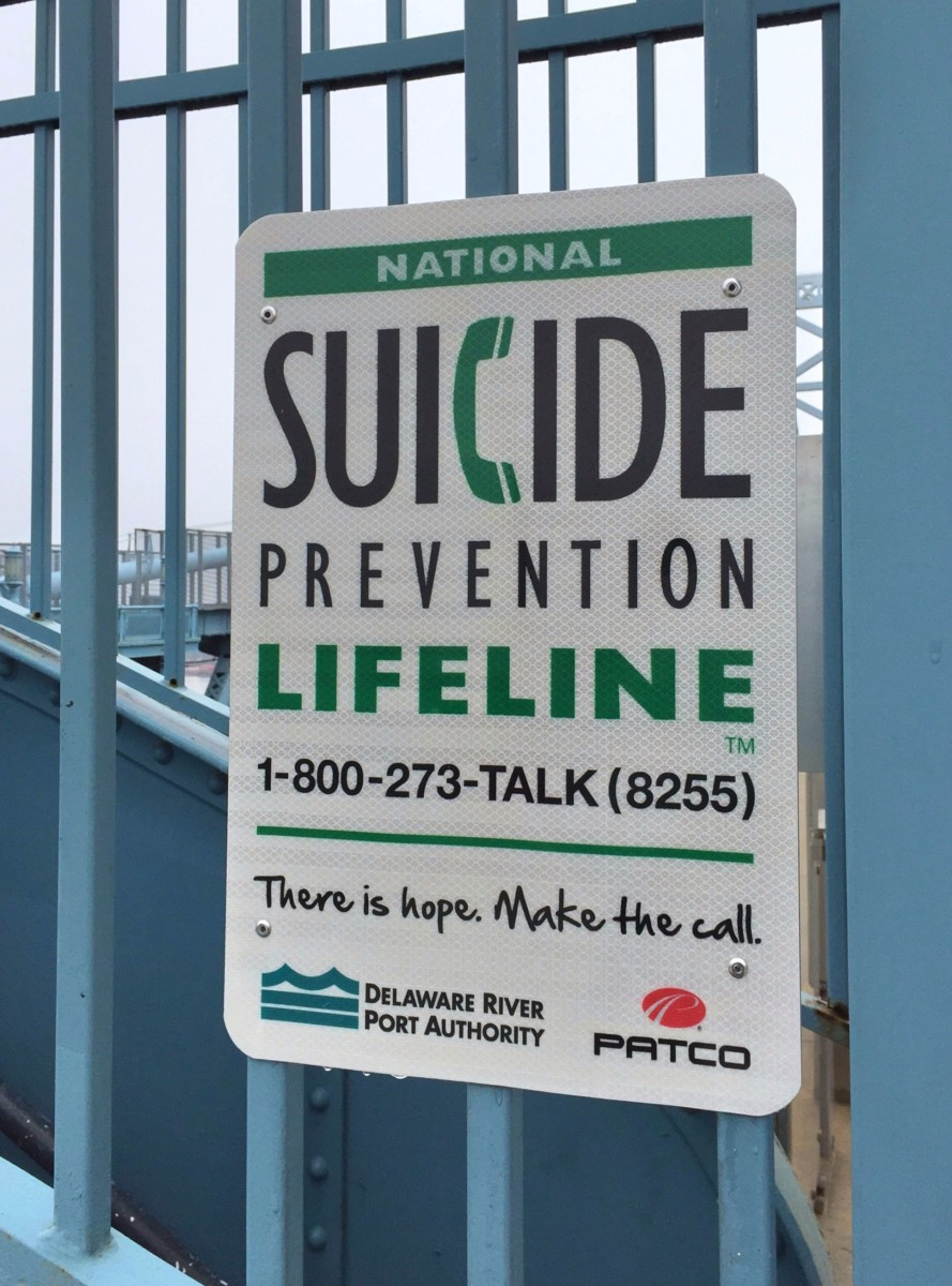 Psychopathology abounds in our world.   You don't have to look far for evidence of it. Suicide prevention phone numbers are posted and call boxes are provided on the Benjamin Franklin Bridge in Philadelphia to provide a deterrent to would-be jumpers.