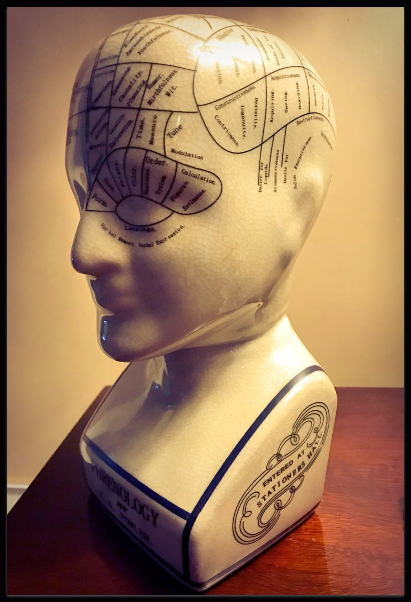 Phrenology was a 18th and 19th century theory of personality that is now discredited.  However, it contributed to modern science the idea that different parts of the brain are responsible for different processes (behaviors, thoughts, emotions).