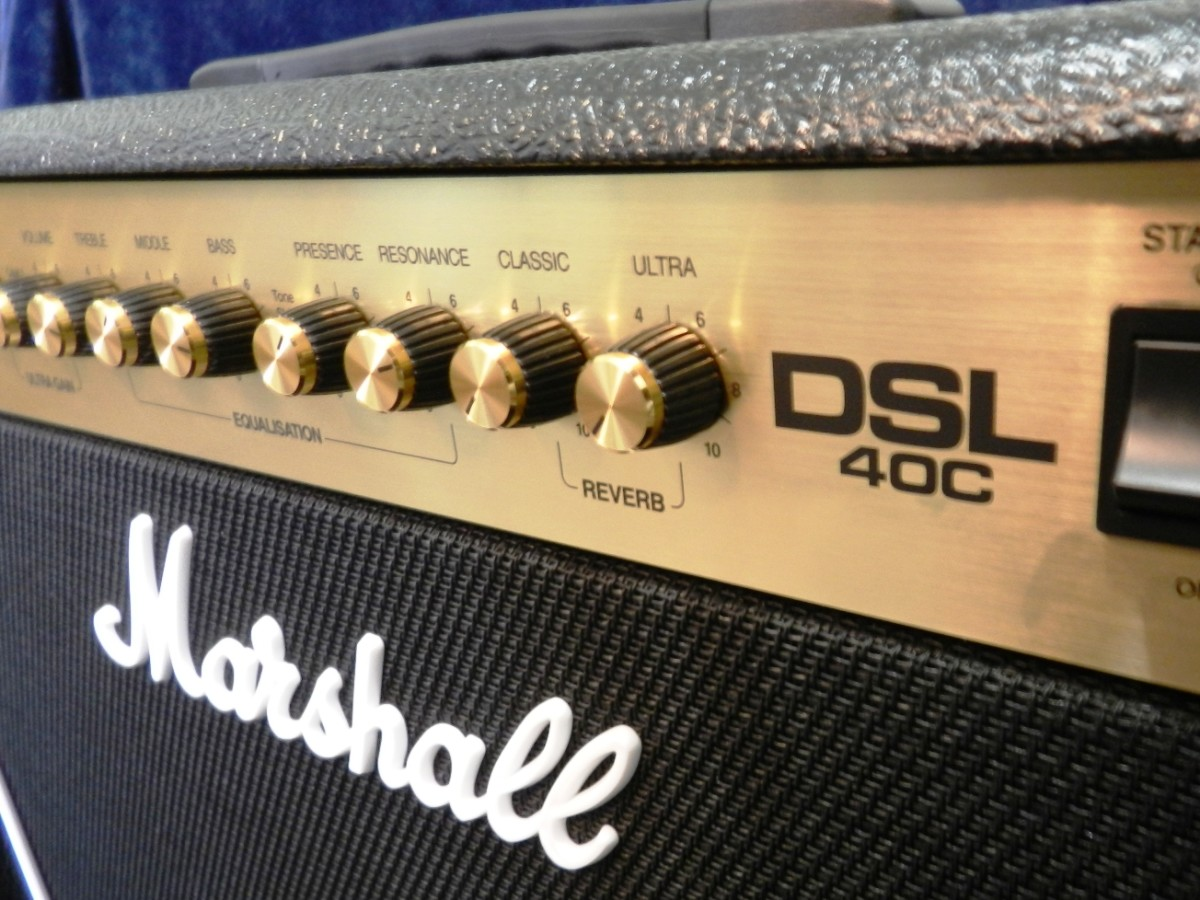 Marshall makes some of the best rock amps in the world.