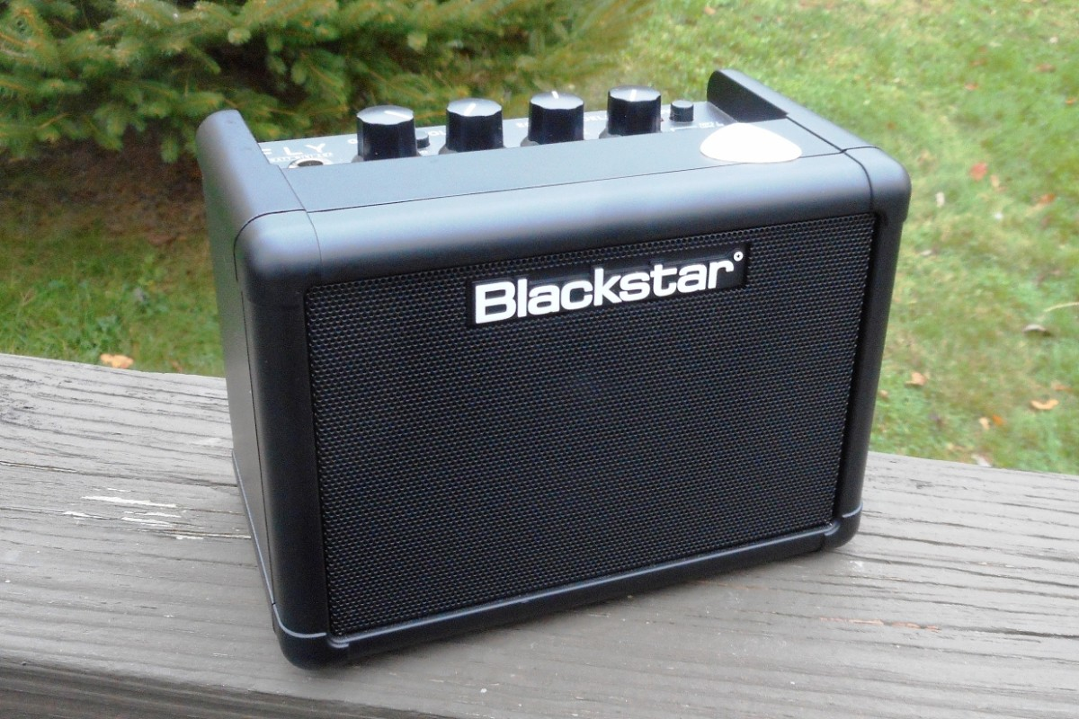 Guitar amps come in all shapes and size, like this tiny but awesome Blackstar Fly