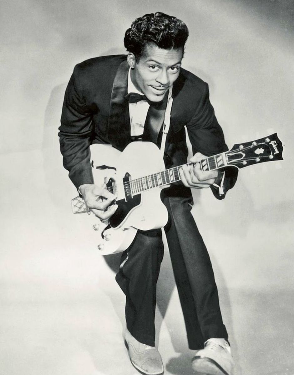Chuck Berry was a great guitarist and very big influence on future rock stars.