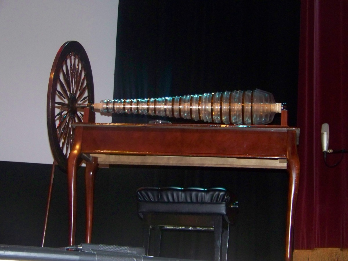Copy of Benjamin Franklin's Glass Harmonica