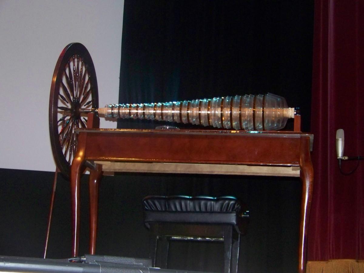 Copy of Benjamin Franklin's Glass Harmonica