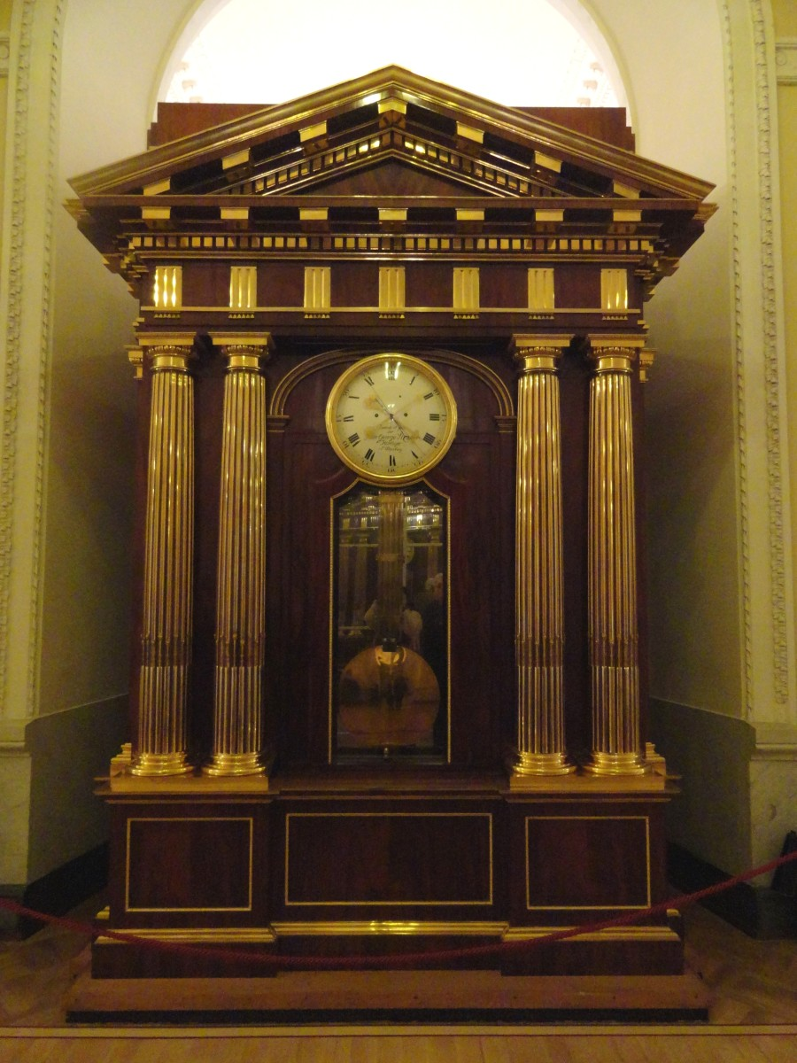 Johann Georg Strasser Clock From Around 1801
