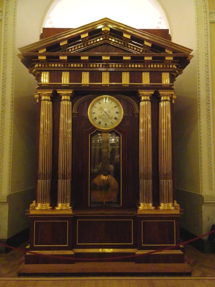 Johann Georg Strasser Clock From Around 1801