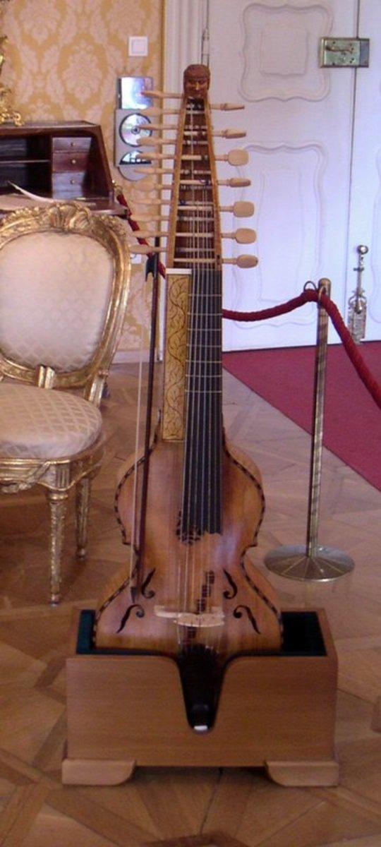 Baryton Owned By Prince Nikolaus of Esterhazy