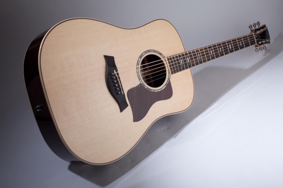 The Taylor 810e guitar.