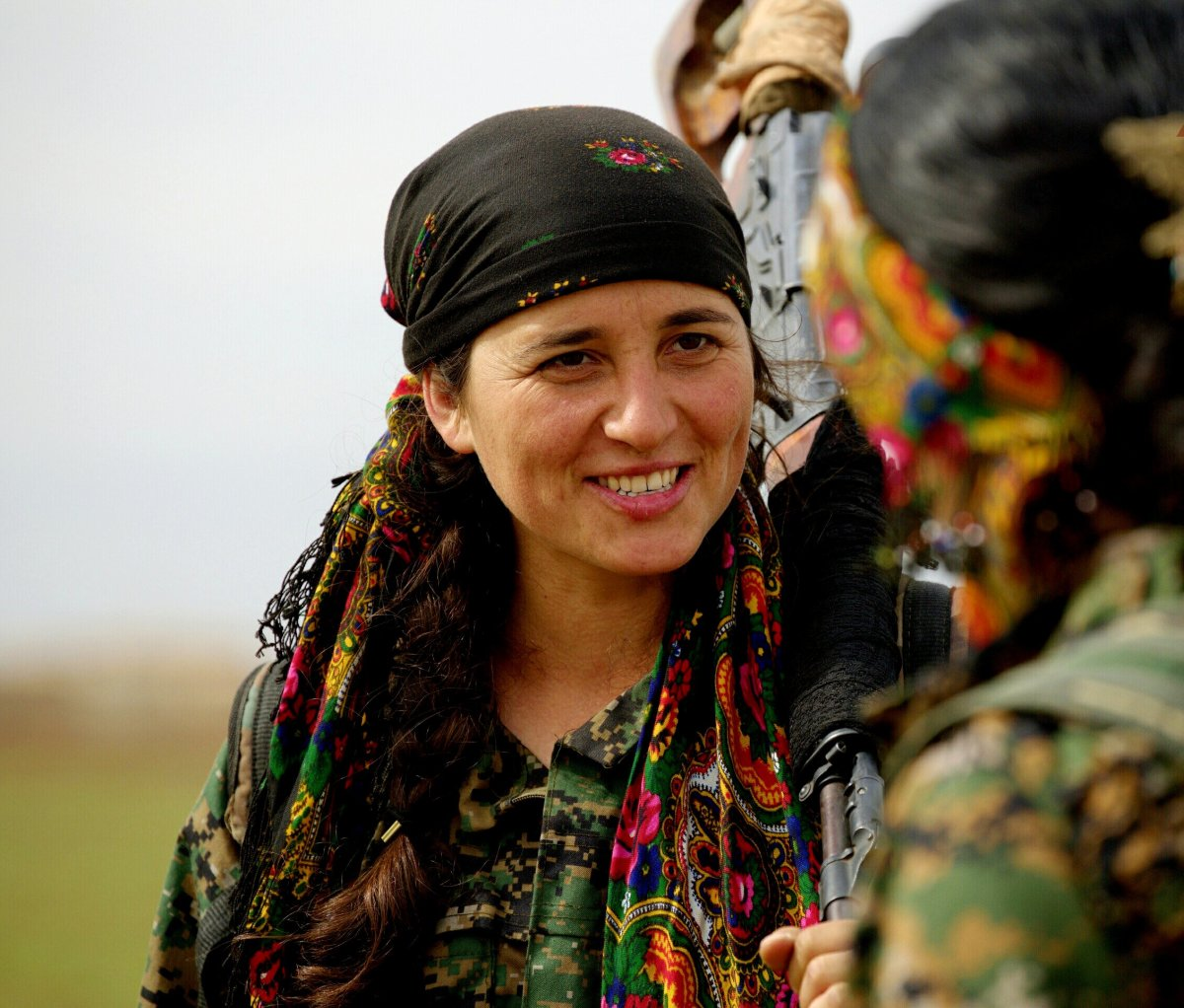 These gutsy women are Kurdish fighters who are on the front lines battling against ISIL.