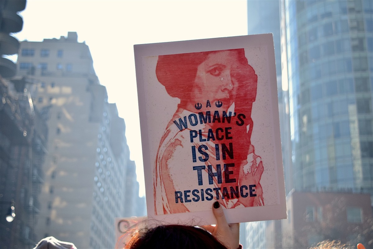 The Trump era has inspired a resistance.  A resistance movement is an organized effort by a significant proportion of the population of a country that opposes or resists legally established government and seeks to disrupt civil order or stability.