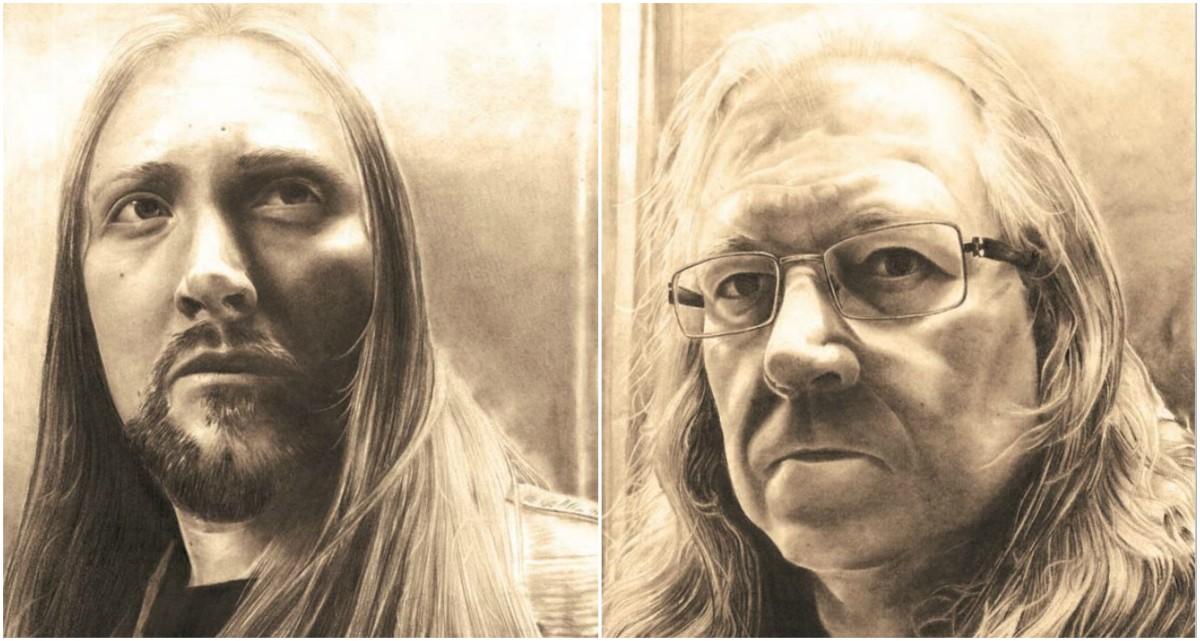 Spellwitch (L-R) Kimo Perämäki (vox/guitars/keys/drums), Ossi Raiski (bass)