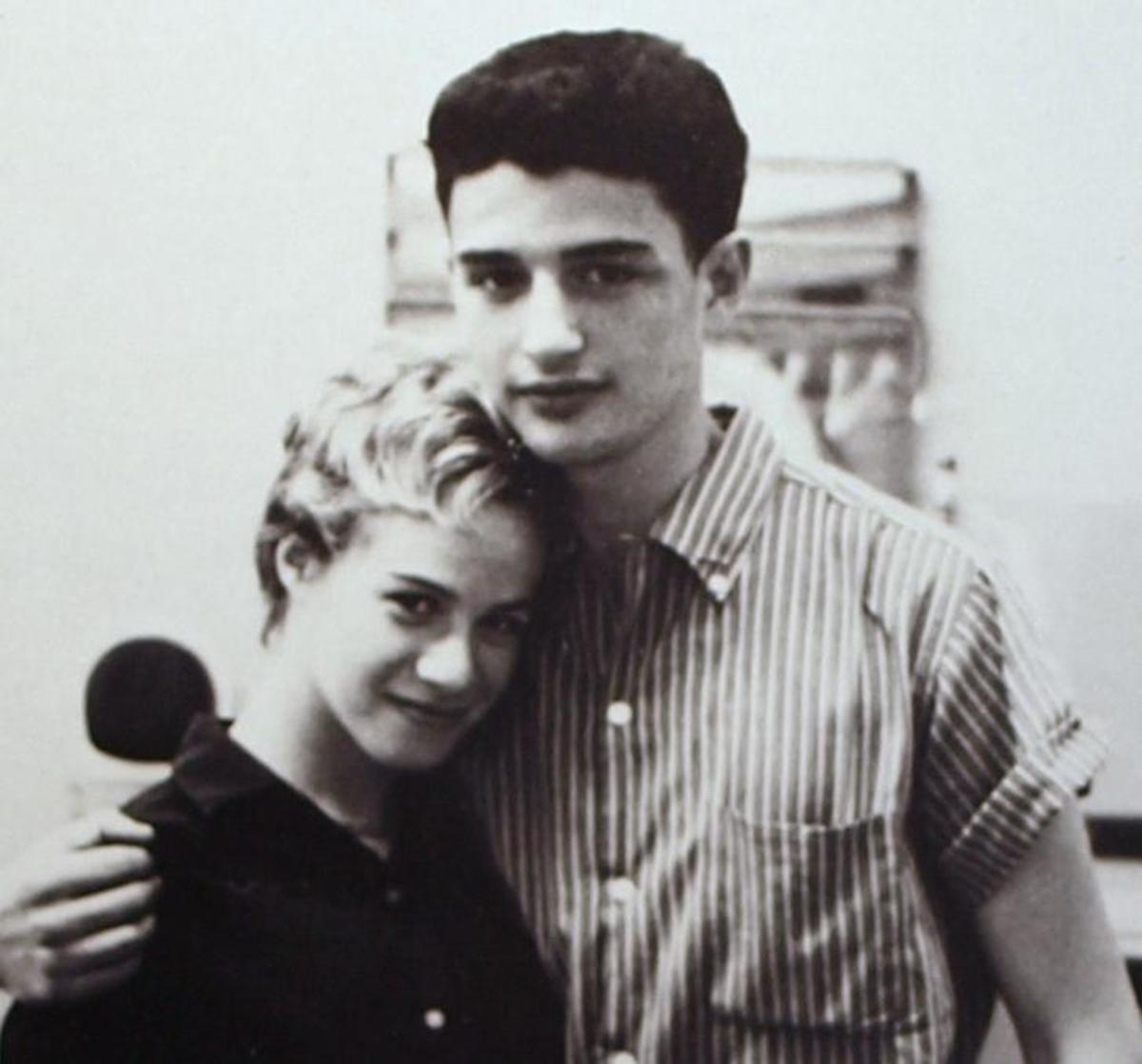 Hitmakers Carole King and Gerry Goffin Photo cropped from the cover of their Songbook album
