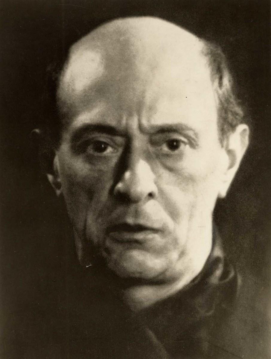 Arnold Schönberg in 1927.