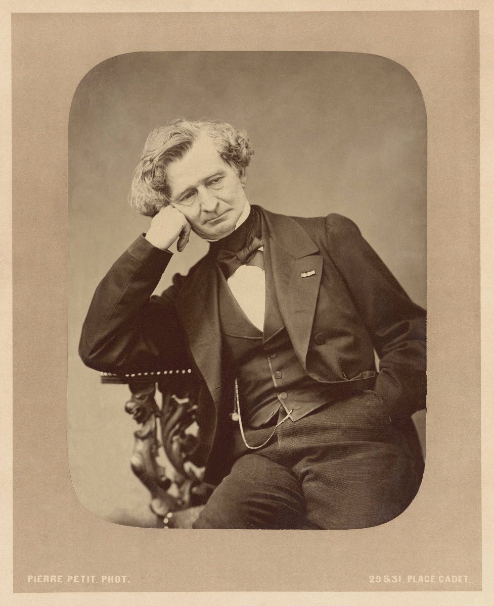 Photograph of Berlioz held in the Bibliothèque Nationale de France.