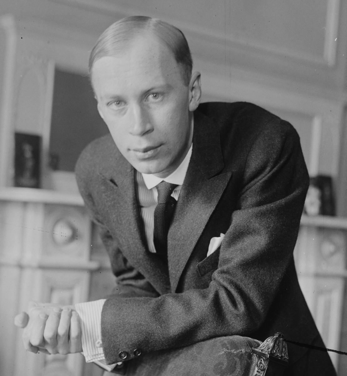 Photograph of Prokoviev c1918