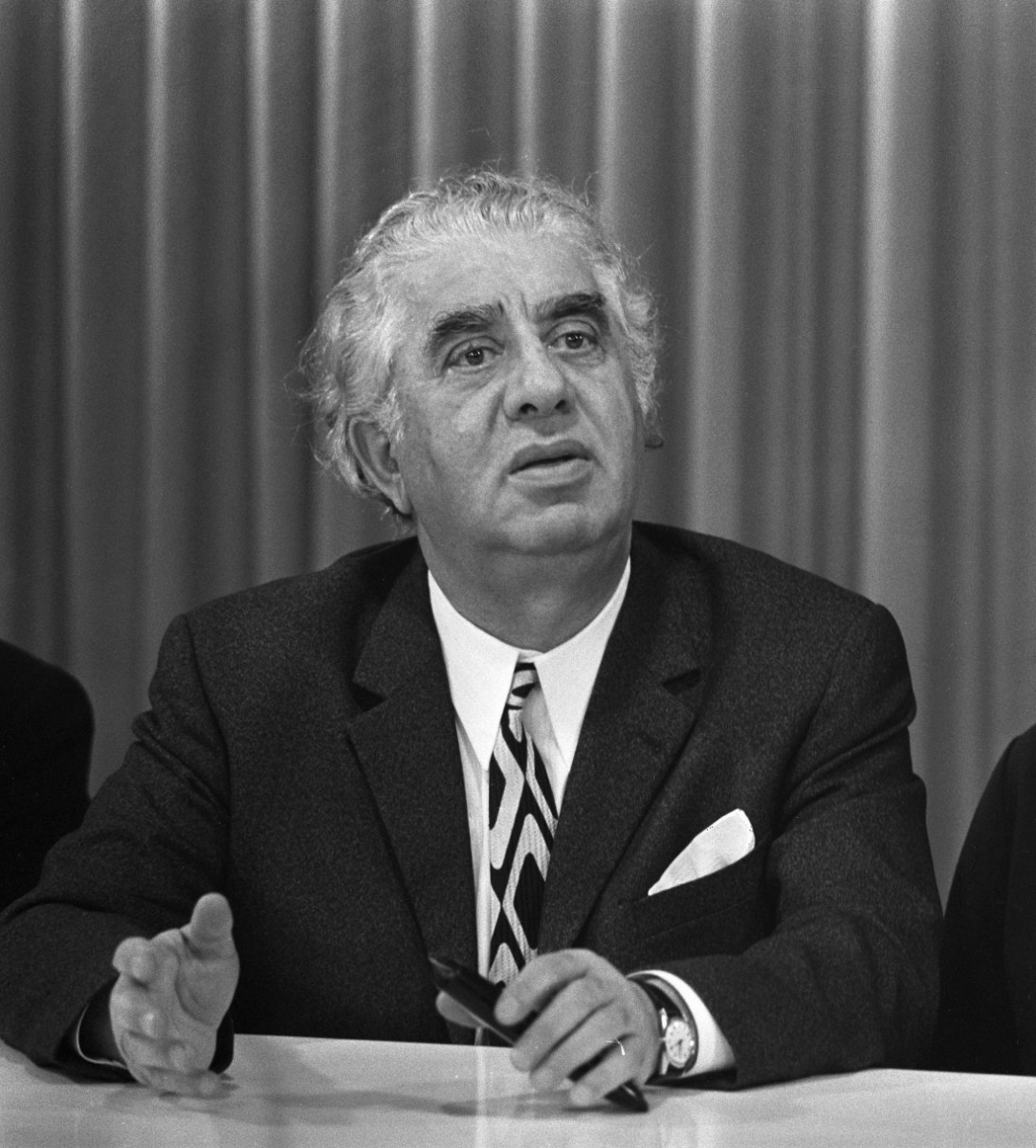 Photograph of Khachaturian in 1971.
