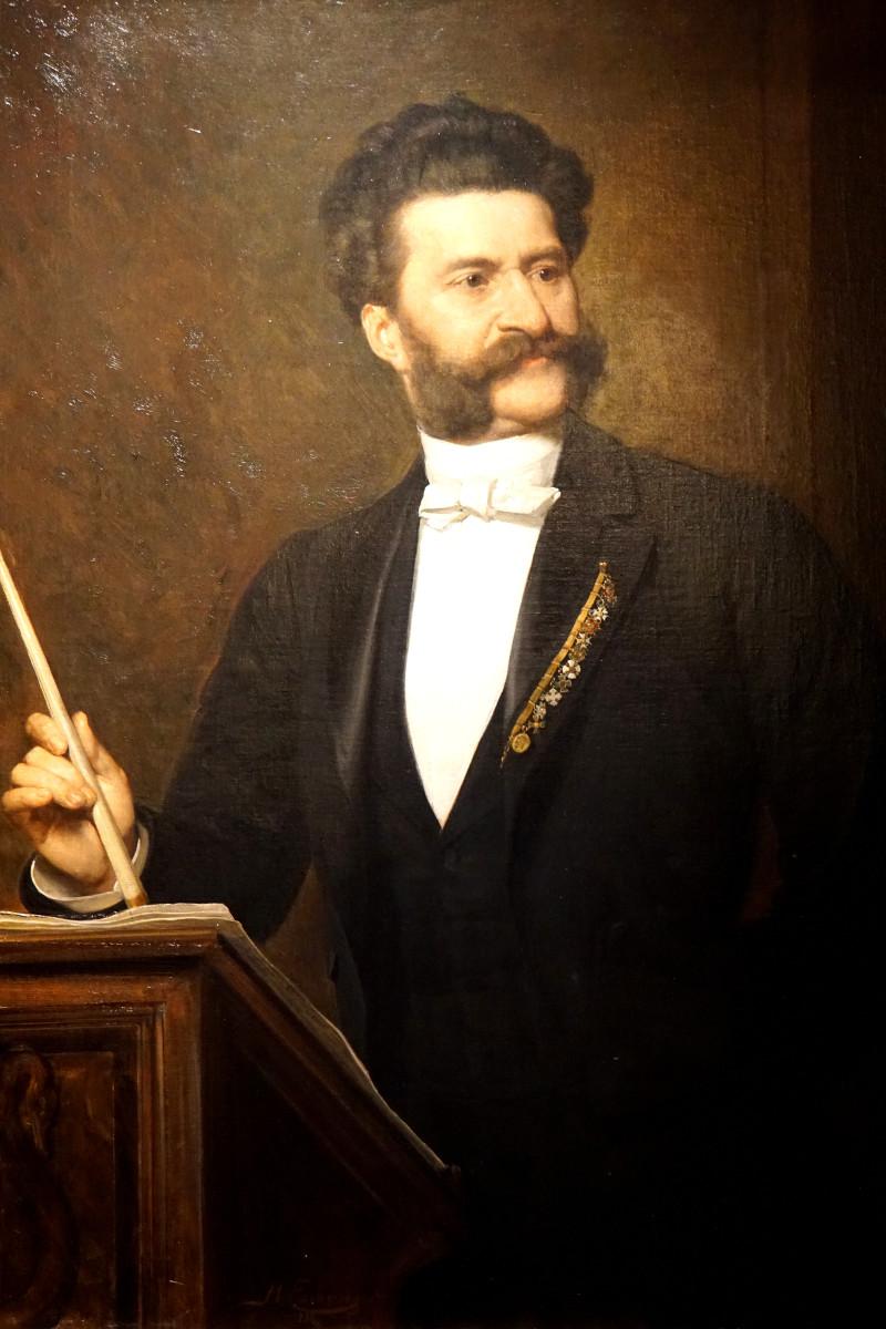 Portrait of Strauss in 1888.