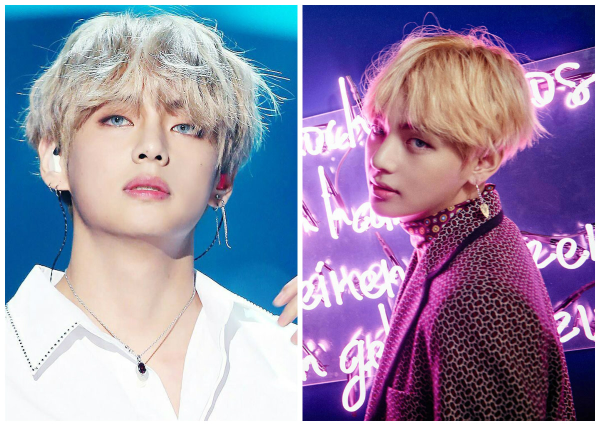 V (BTS) | Top 10 Most Handsome K-Pop Male Idols
