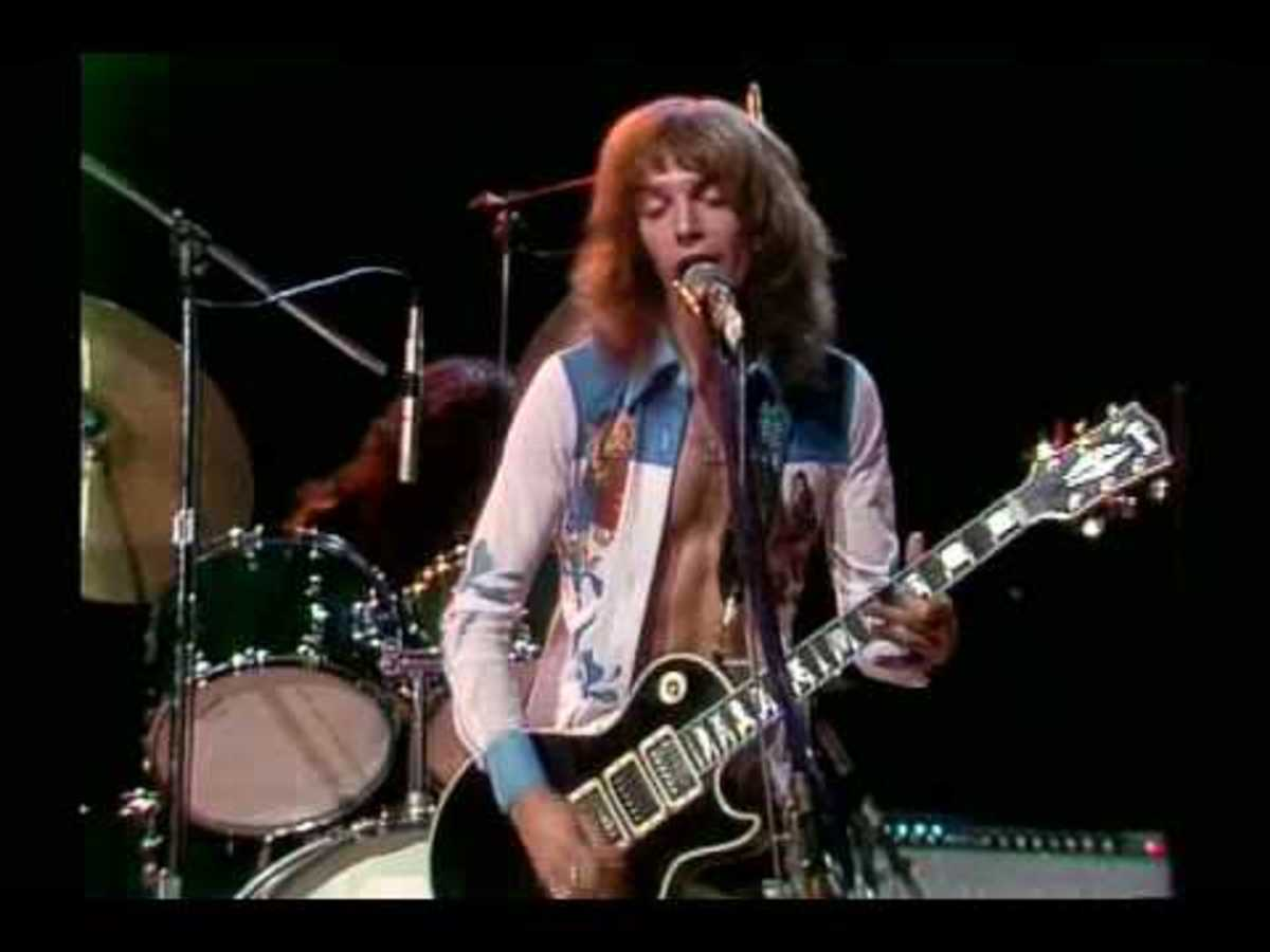 Peter Frampton in 1975.