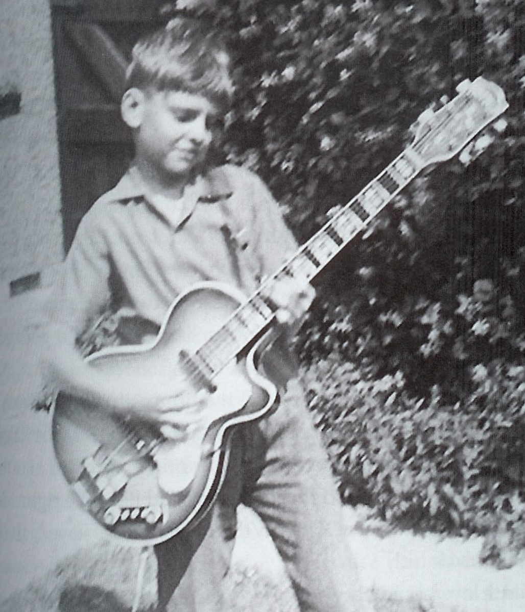 A very young Peter Frampton.
