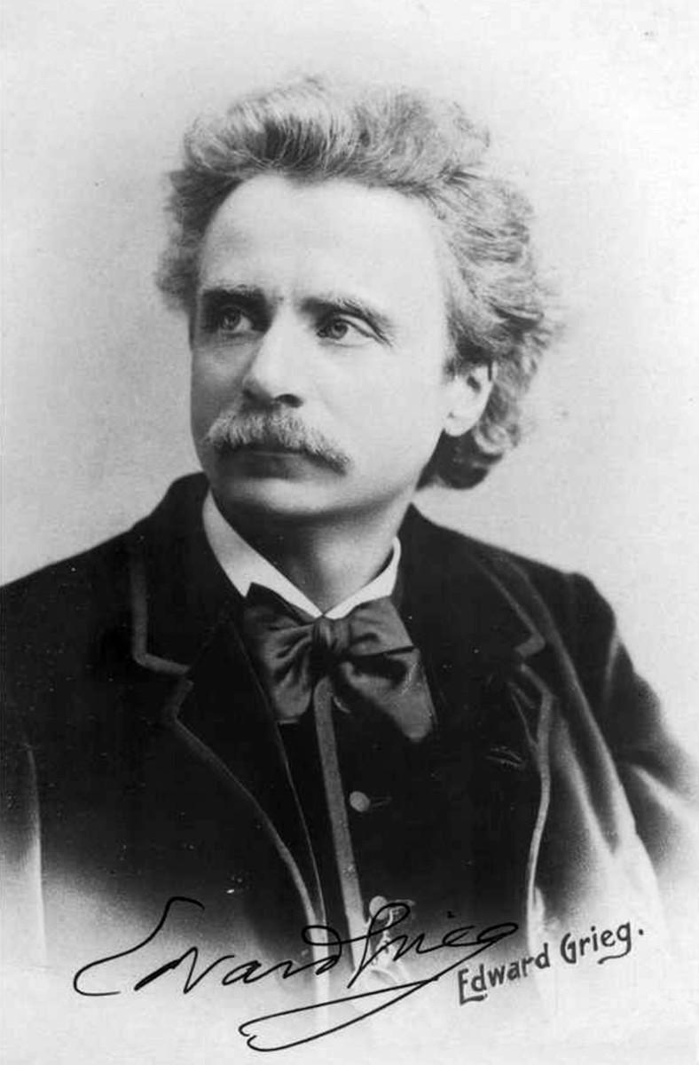 Edvard Grieg in 1888