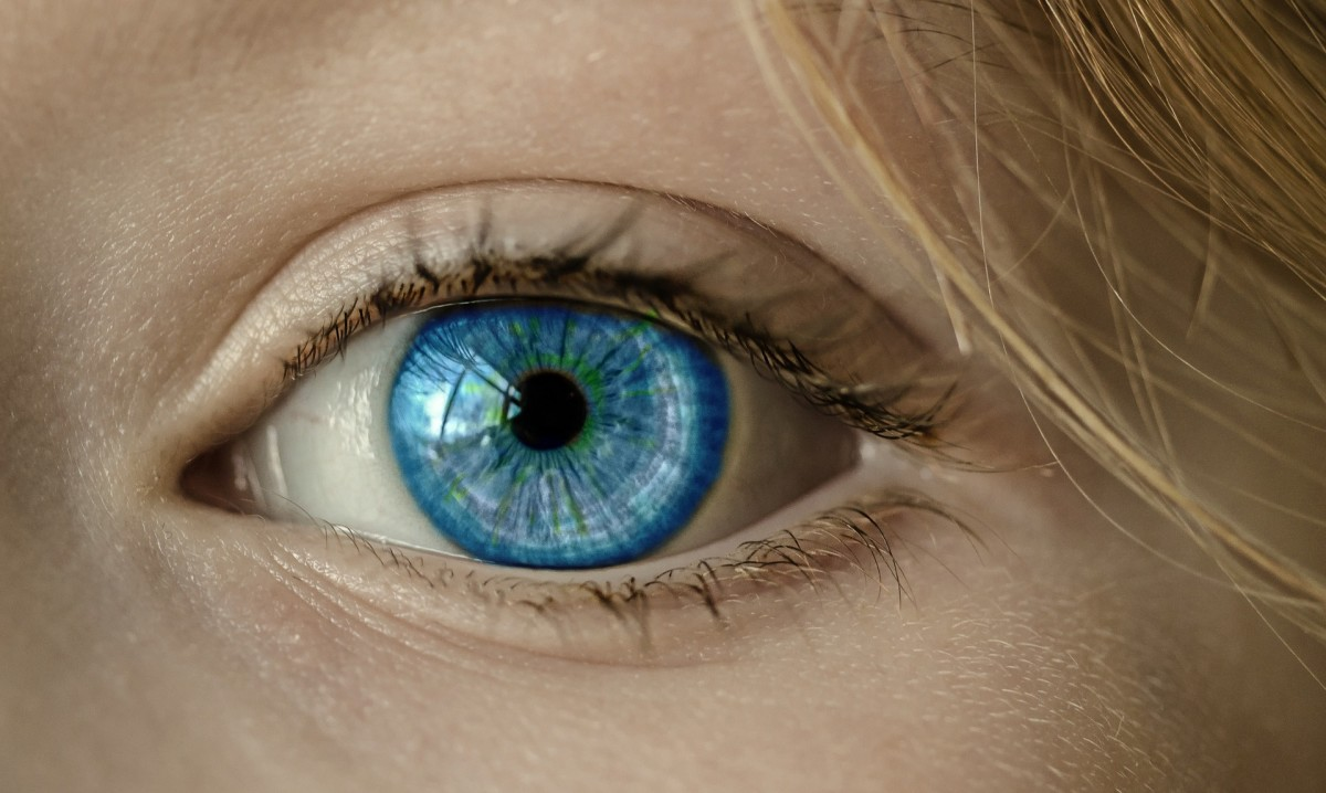 Only 8% of the world's population has blue eyes, and DNA research indicates that every single one of them originates from the same ancestor.  Blue eyes are the result of a genetic mutation, making blued-eyed people more light sensitive.