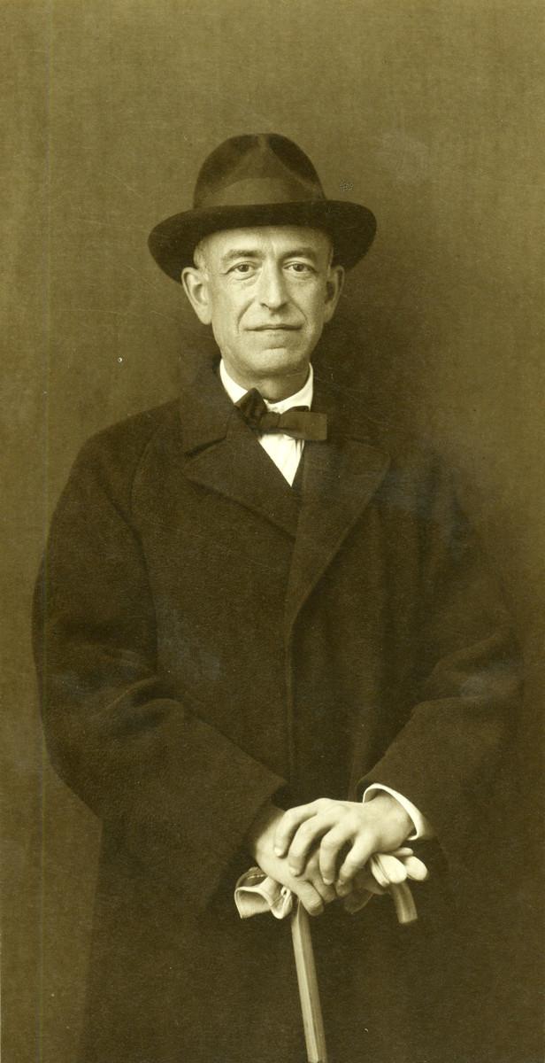 Manuel de Falla in 1919.