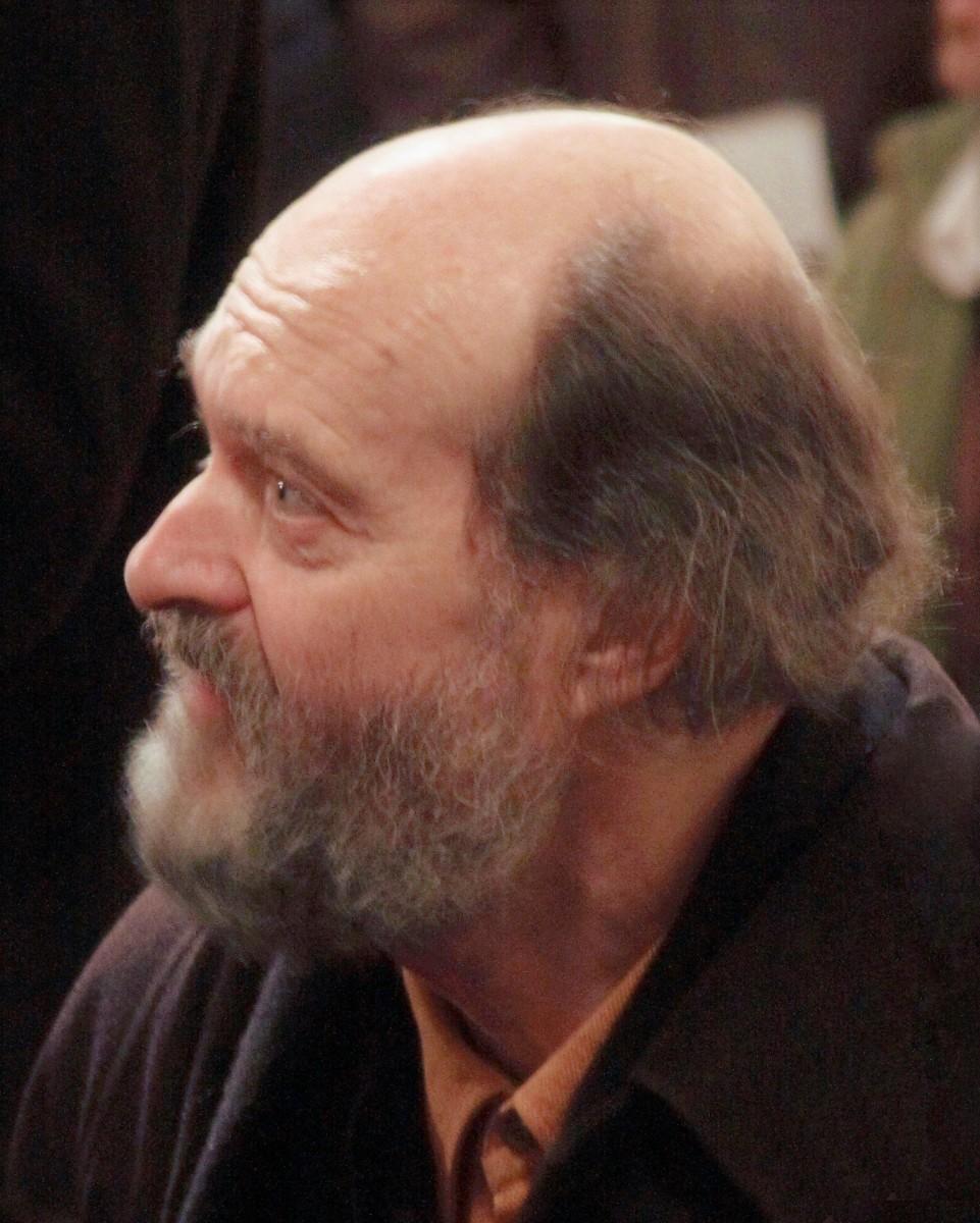 Avo Pärt visiting Christ Church, Dublin in 2008.