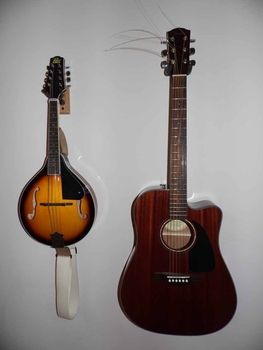 Mandolin and Guitar